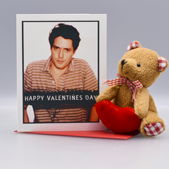 Hugh Grant Mugshot Valentine's Day Card - WHOLESALE 6-PACK