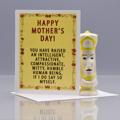 A Very Humble Mother's Day Card - WHOLESALE 6-PACK