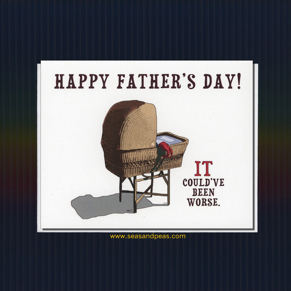 """It's Alive"" Father's Day Card - WHOLESALE"