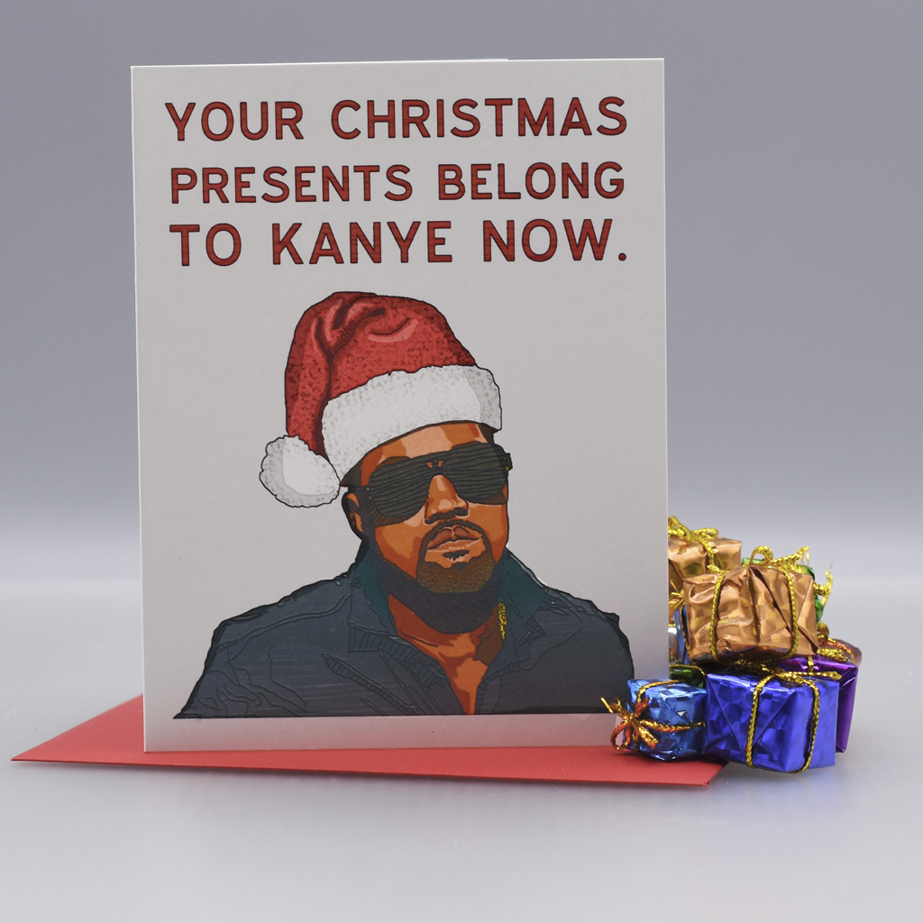 The Kanye Who Stole Christmas Card - WHOLESALE 6-PACK