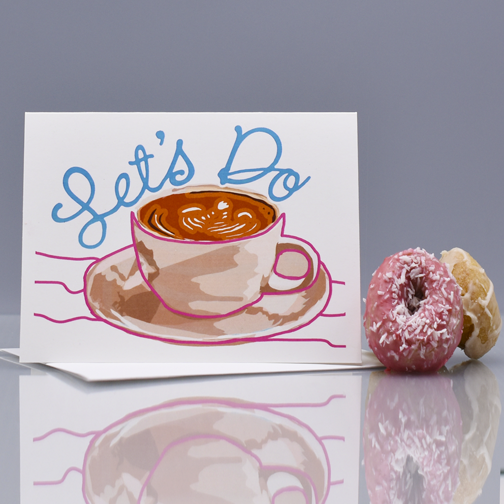 Let's Do Coffee Friendship Card - WHOLESALE 6-PACK