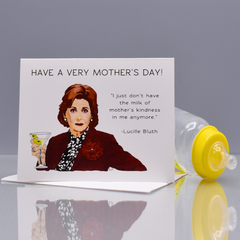 "Mother's Milk ""Arrested Development"" Mother's Day Card - WHOLESALE 6-PACK"