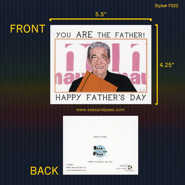 """Maury"" Father's Day Card - WHOLESALE"