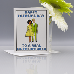 Real Mofo Father's Day Card - Version D - WHOLESALE 6-PACK