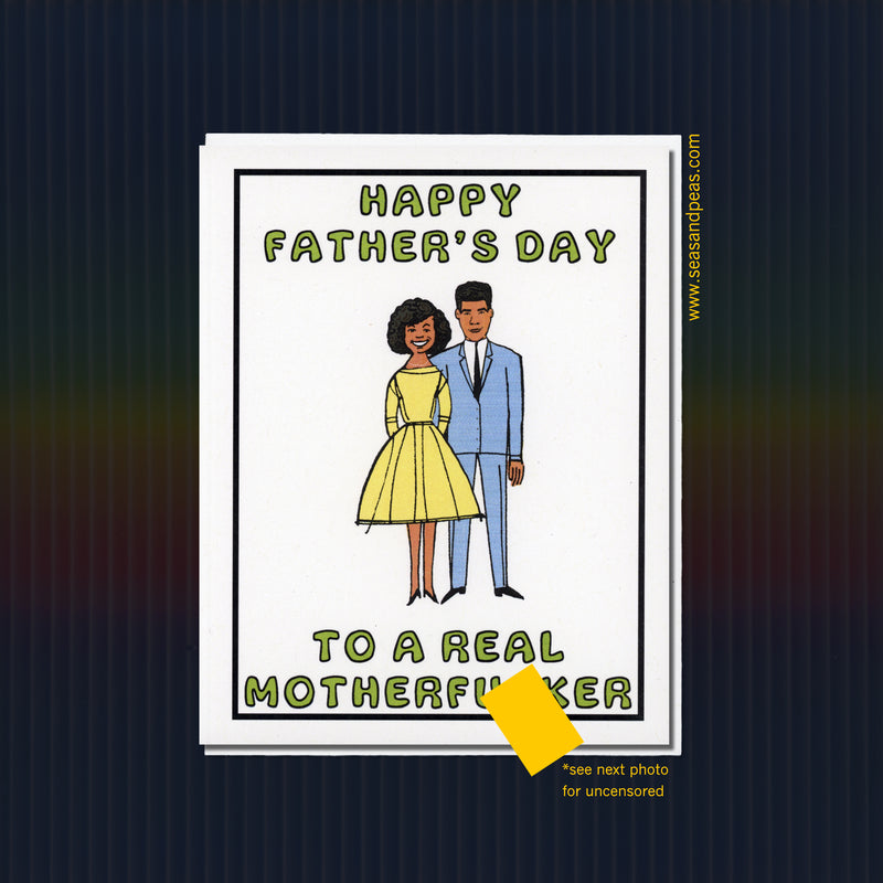 Real Mofo Father's Day Card - Version B - WHOLESALE