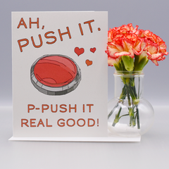 "Salt N Pepa ""Push It"" Valentine Love Card - WHOLESALE 6-PACK"