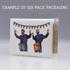As Fuck Birthday Card - WHOLESALE 6-PACK