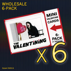 """THE SHINING"" Mini Valentine Set - WHOLESALE 6-PACK"