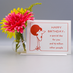 A Special Birthday Card - WHOLESALE 6-PACK