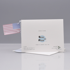 Thanks Obama Thank You Card - WHOLESALE 6-PACK