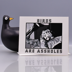"Hitchcock ""The Birds"" Are Assholes Pop Culture Card - WHOLESALE 6-PACK"