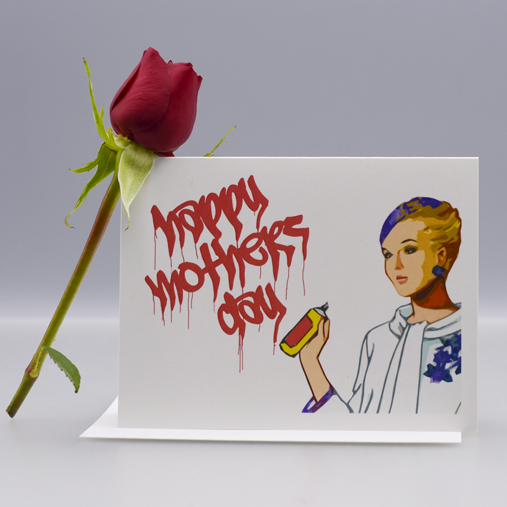 Lady Vandal Mother's Day Card - WHOLESALE 6-PACK