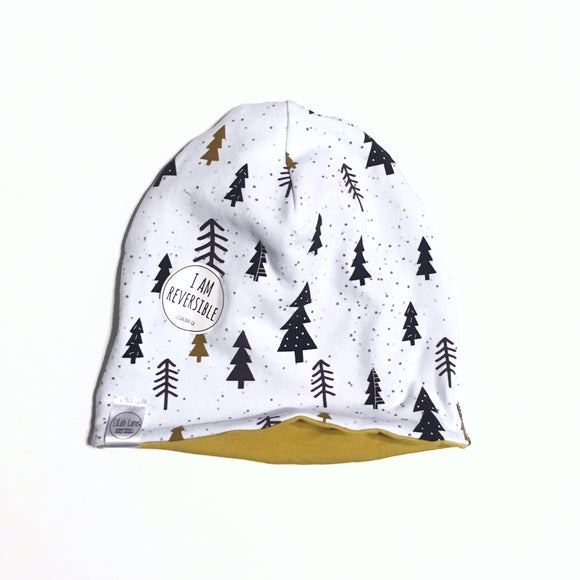 Trees Reversible Beanie