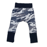 Navy Camo Grow with me Pants