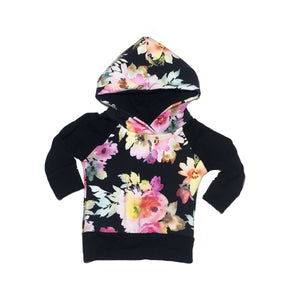 Electric Floral Grow With Me Hoodie