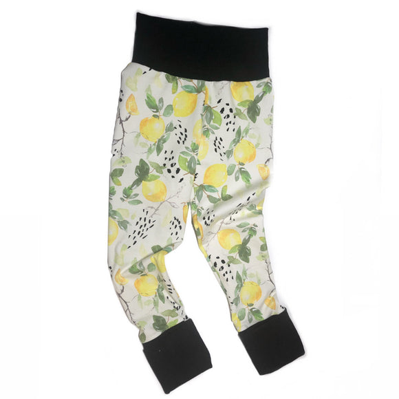 Lemon Grow With Me Leggings