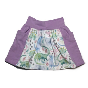 Dino Pocket Skirt