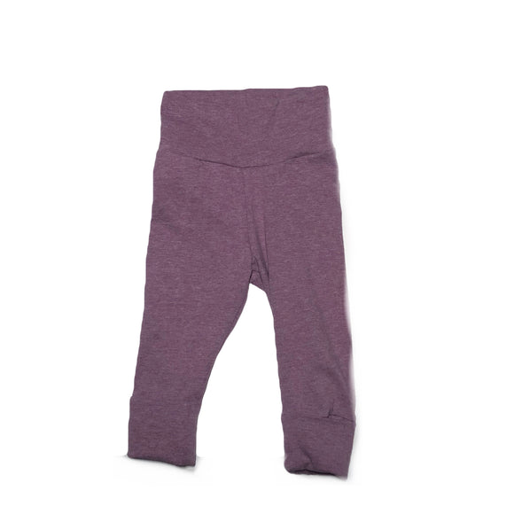 Heather Amethyst Grow With Me Leggings