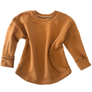 Grow With Me Slouchy Dolman - Camel