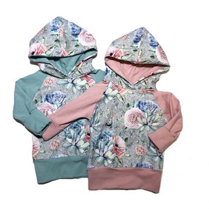 Sweet Succulent & Blooms Grow With Me Hoodie