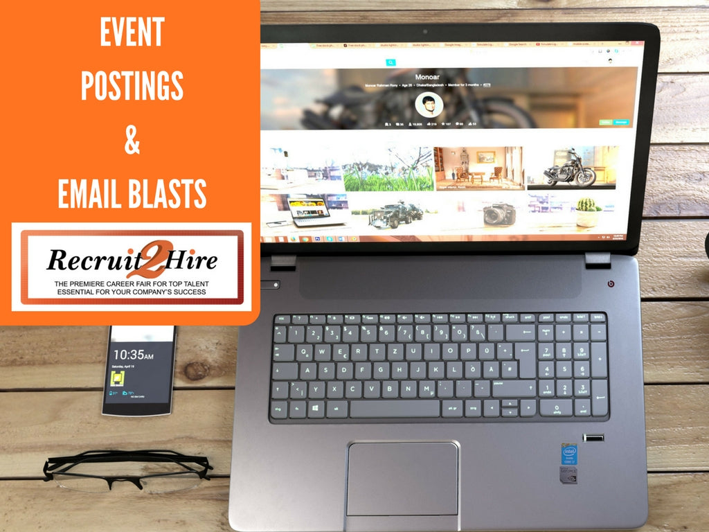 Event Email Blasts & Postings