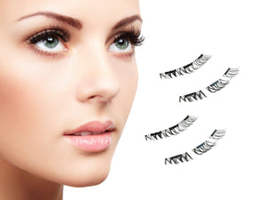 8pc Magnetic Eyelashes, False Eyelashes - Goddess Body Co.
