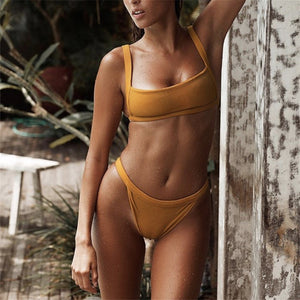 Straight Up Cheeky Bikini | 3 Colors, Bikinis Set - Goddess Body Co.