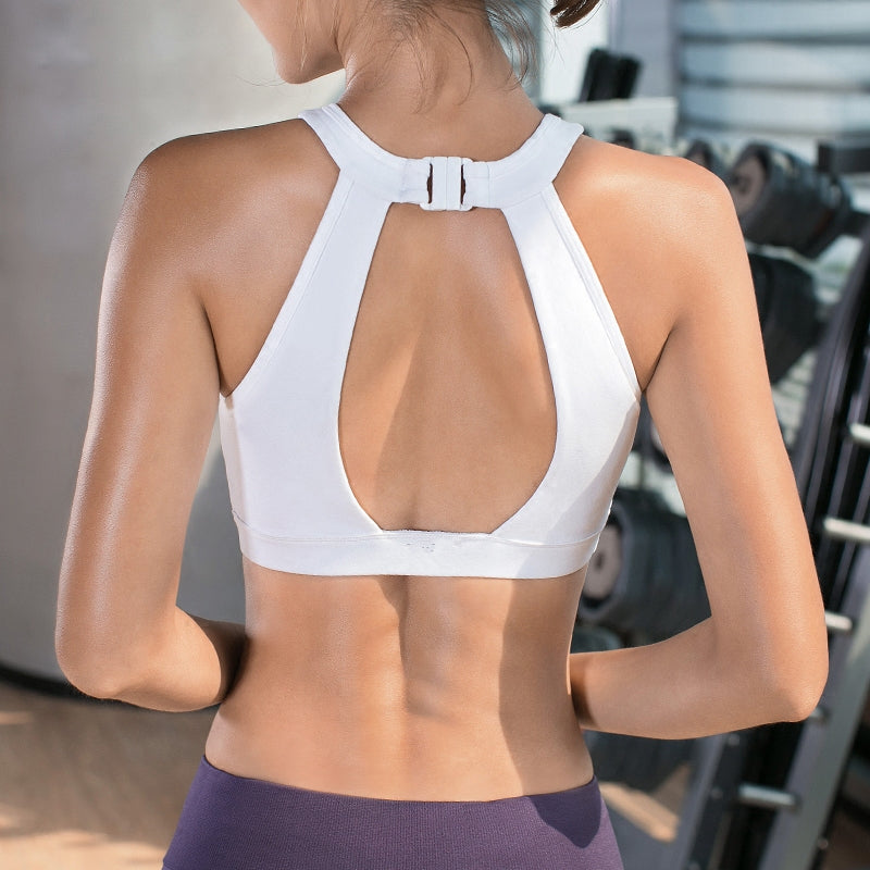 Blair In White, Sports Bras - Goddess Body Co.