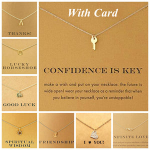 Wish Necklace, Pendant Necklaces - Goddess Body Co.