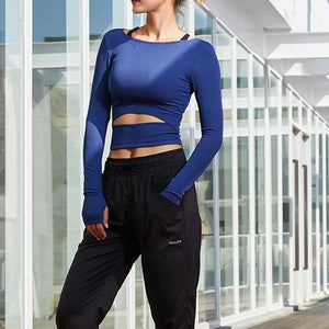 Long Sleeve Compression Shirt, Yoga Shirts - Goddess Body Co.