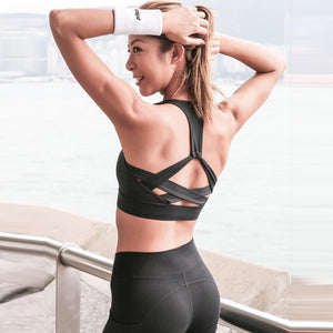 Hollow out Sports Bra, Sports Bras - Goddess Body Co.