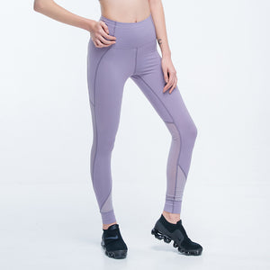 Mesh Cutout Control Top Leggins,  - Goddess Body Co.