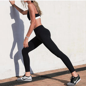 Serafina Black - Control Top Legging, Yoga Pants - Goddess Body Co.