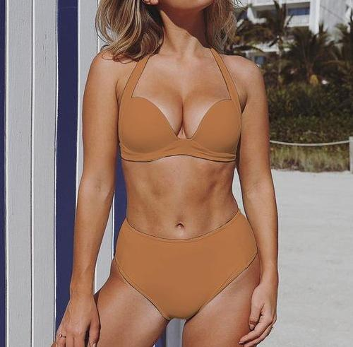 High Waist Bikini, Bikinis Set - Goddess Body Co.