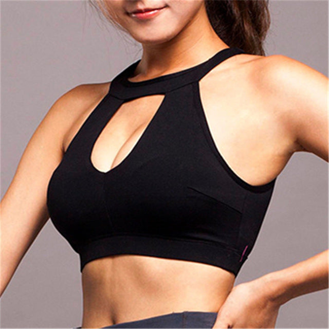 Blair In Black | High Impact Sports Bra, Sports Bras - Goddess Body Co.