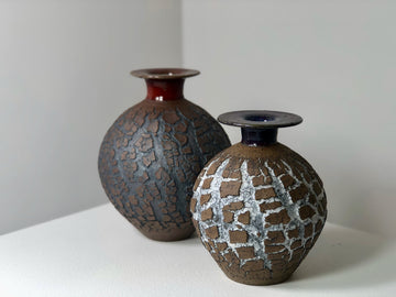 Crickhollow Pottery: Crackle Vase