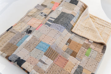 Aly Peel: Jumper Scrap Quilt