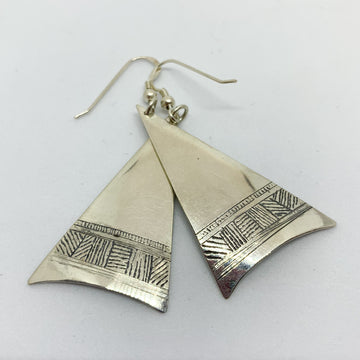 Gavin MacSporran: Dreaming Triangle Earrings