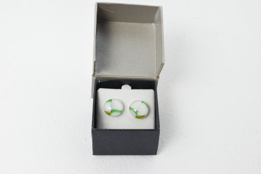 Christine Hannan: Glass Earrings