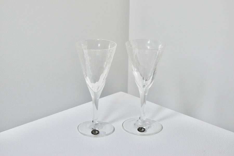 Tasmanian Glassblowers: Wine Glasses