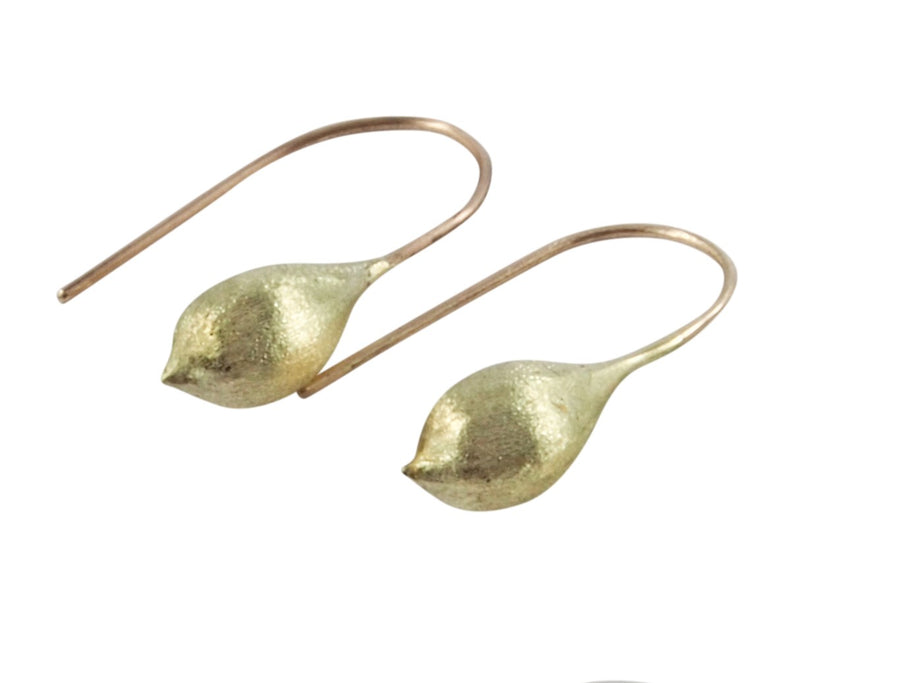 Janine Combes: Kelp Pod Earrings