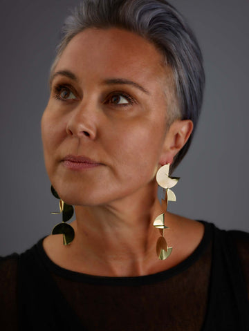Megan Perkins: Daydreamer Earring Four Circle