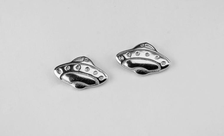 UFO Stud Earrings