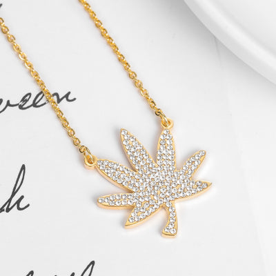 Iced Out Mary Jane Necklace