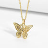 Encoreusa Charms Butterfly Charm Necklace