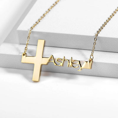 On the Cross Necklace