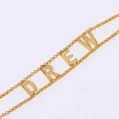 Encoreusa Custom text Two-Chainz Bracelet