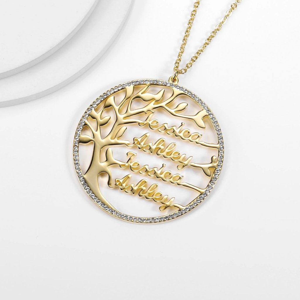 Encoreusa Gold Ohana Necklace