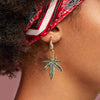 Encoreusa Mary Jane Charm Earrings