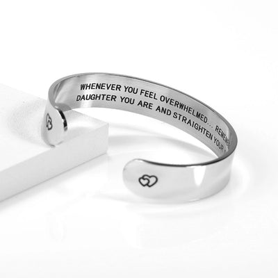 Straighten Your Crown Bangle